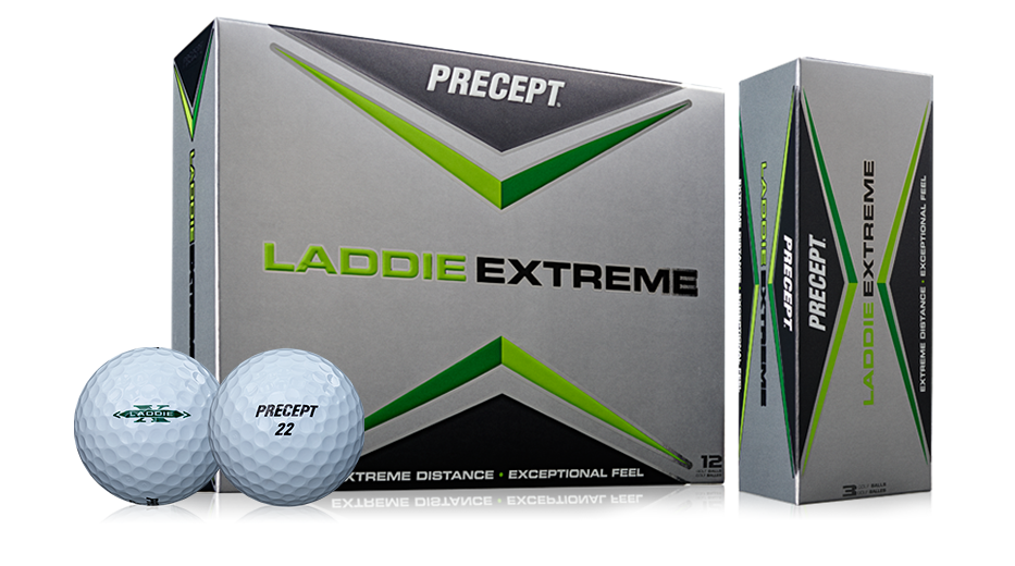 Bridgestone Golf Laddie Extreme Golf Balls and Box