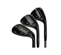 J33 Forged Black Satin Wedges product image