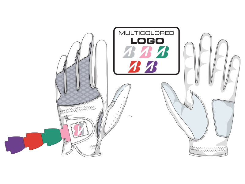 Bridgestone Golf Lady Glove Customization