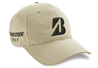 Bridgestone Golf Tour Relaxed Fit Golf Hat Tan