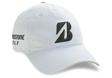 Bridgestone Golf Tour Relaxed Golf Hat White