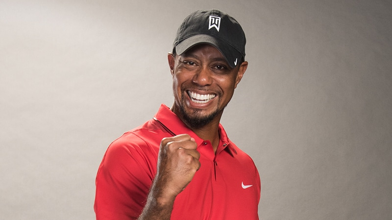Tiger Woods - Bridgestone Golf PGA Tour Team 6cce501724a